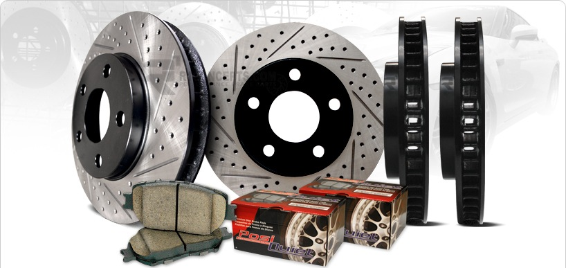 Замена тормозных колодок и дисков киев